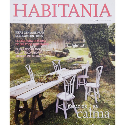 "HABITANIA MAGAZINE   ""Such beautiful architecture; simple; elegant with an homage to the history of the country…and so in tune with the landscape. I love seeing fine examples of design in other parts of the world. It is inspirational, and I thank you for sharing these wonderful images."" Victoria Hatens"